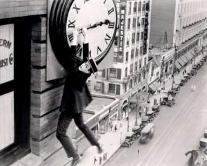 Harold Lloyd Safety Last El hombre mosca