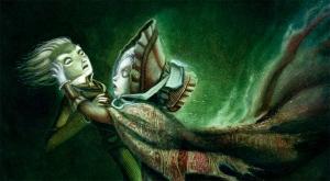 Imagen Cuentos Macabros Poe, Lacombe, La caida de la casa usher