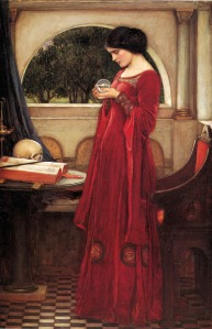 John_William_Waterhouse_(1902)_Crystal_Ball