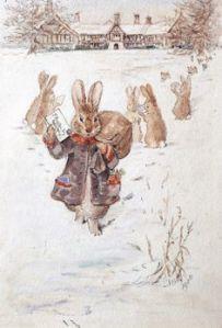 Tarjeta de Navidad-Beatrix Potter
