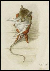 Ilustración de Beatrix Potter