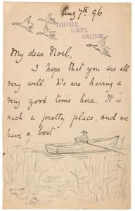 Carta de Beatrix Potter a Noel