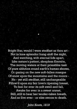 Bright Star-Poema John Keats