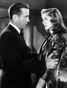 Bacall y Bogart en la película El sueño eterno