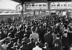 Hora punta en Tokio-1970