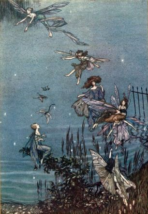 Hadas-Ilustración Peter Pan