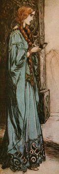 Arthur Rackham's illustrations to The Ring by Wagner