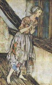 Cinderella-Arthur Rackham