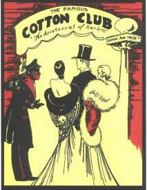 Flyer publicitario Cotton Club