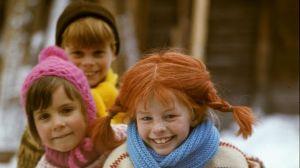 Pippi,Tommy y Annika