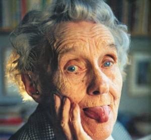 La escritora Astrid Lindgren