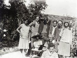 Familia y amigos de Vanessa Bell en Charleston House