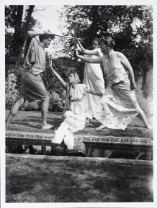 Teatro en los jardines de Charleston