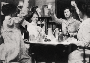 Photograph_of_Violet_Oakley,_Jessie_Willcox_Smith,_Elizabeth_Shippen_Green,_and_Henrietta_Couzens