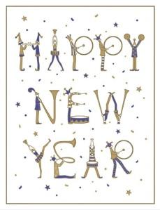 Feliz año nuevo y felices libros nuevos