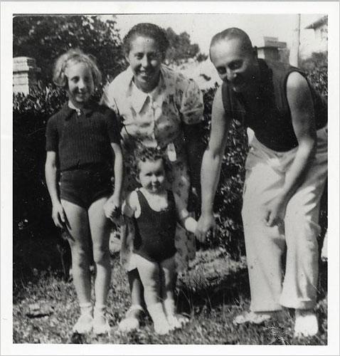 Irène Némirovsky,su marido y sus hijas