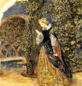 Dama medieval, de John Brett