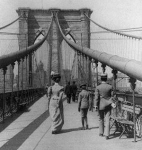 Brooklyn Bridge 1800, New York City