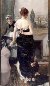 Return of the Ball - Alfred Roll 1886