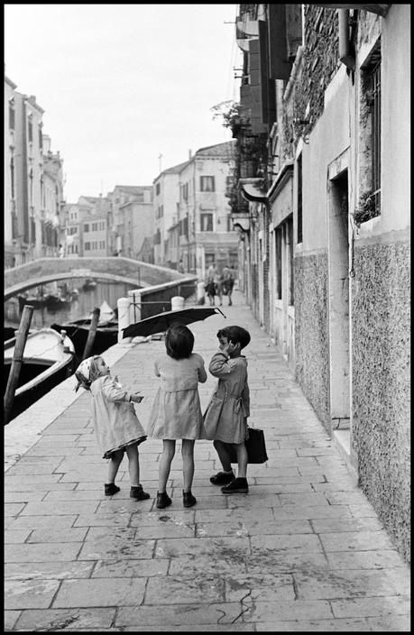 """Inge Morath © The Inge Morath Foundation ITALY. Venice. 1955. """