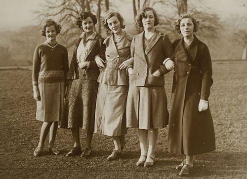 Las magníficas hermanas Mitford