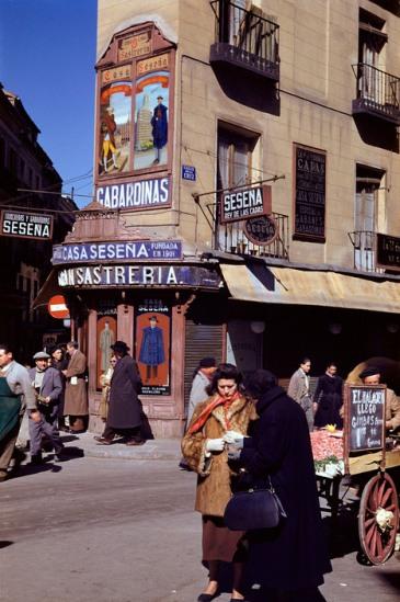 SPAIN. Madrid. 1955.