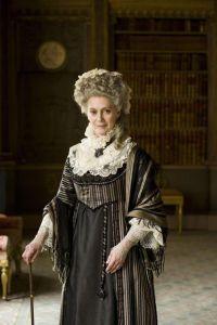 La actriz Francesca Annis como Lady Ludlow