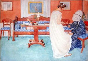Carl Larsson, Bridesmaid