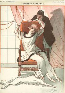 Art Deco Print 1922 La Vie Parisienne