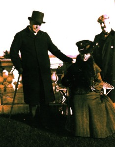 Edith Wharton, Henry James y Howard Sturgis en 1904