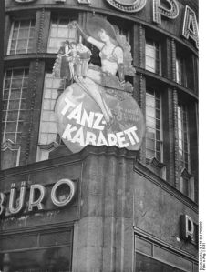 The Europahaus, uno de los cientos de cabaret en el Berlín de la república de Weimar