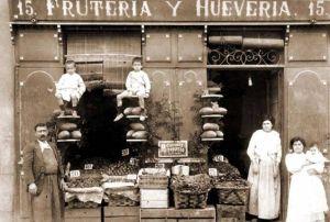 Comercio, Frutería y Huevería en Madrid  (1 de enero de 1900)
