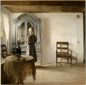 Interior by Peter Vilhelm