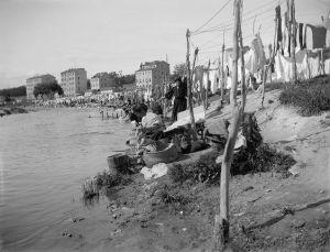 Las lavanderas del río Manzanares (Madrid) 1915