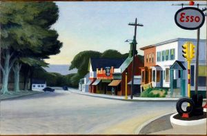 Orleans by Edward Hopper, 1950