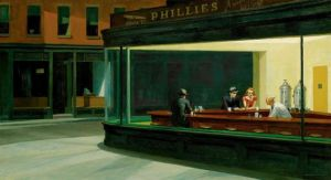 Edward Hopper- Nighthawks-1942