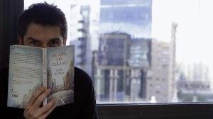 Carlos del amor y su libro El año sin verano