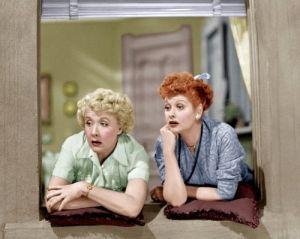 La serie de televisión I love Lucy