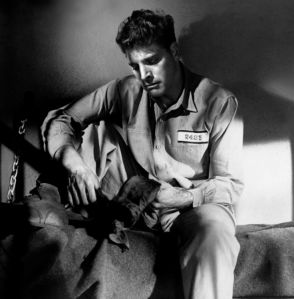 Burt Lancaster en Forajidos 1946