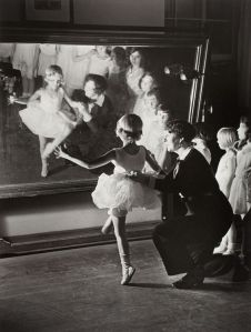 First Ballet Lesson. Photo Alfred Eisenstaedt 1931