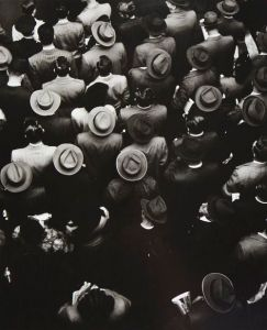 Staten Island Ferry Commuters, 1944. By Gordon Parks