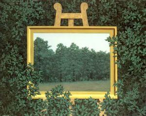 René Magritte, La cascada, 1961