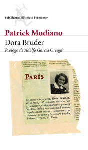 Dora Bruder- Patrick Modiano