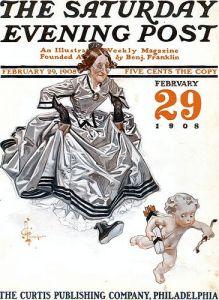 Ilustración de J.C. Leyendecker.