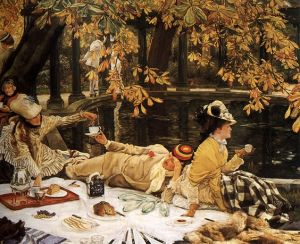 James Jacques Joseph Tissot (1836-1902) Holyday 1876