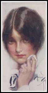 """A Study"" by Harrison Fisher ca.1915"
