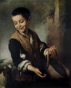 Muchacho con un perro- Murillo