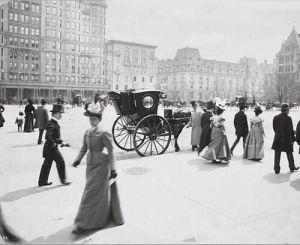 5 avenida de Nueva York en 1897