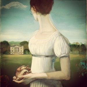 Fanny Price- Ilustración de Fernando Vicente