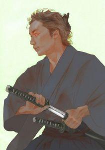 Samurai y Katana. Hiroshi Goto.